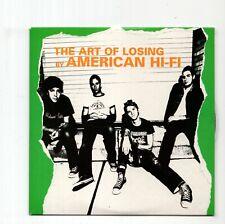 (JA107) American Hi-Fi, The Art Of Losing - 2003 DJ CD
