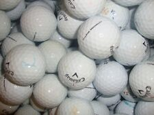 100 CALLAWAY CHROME SOFT WHITE GOLF BALLS