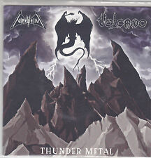 "Nifelheim /  Vulcano – Thunder Metal - split EP  7"""