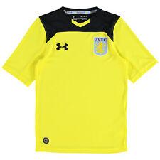 Aston Villa Home Goalkeeper Shirt 2017 18 Kids Under Armour Harrison Cr082 II 18