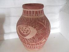 Unico fatto a mano e Dipinti Stile Rustico vaso di terracotta