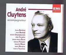 ANDRE CLUYTENS BOX SET 4 CDS TCHAIKOVSKY/ FRANCK/ MENOTTI/ BACH/ CHOPIN/ NIGG