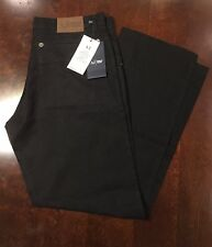Armani Jeans AJ Comfort Fit *BRAND NEW* Size 35  BLACK 100% cotton made in Italy