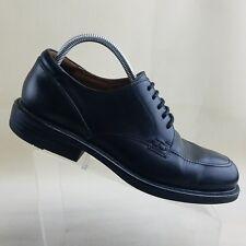Florsheim Mens Oxfords Shoes Black Leather Apron Toe Dress Laced  Size 10 M #F32