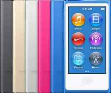 Apple iPod Nano 8th Generation 16GB Mp3 Player Space Gray Gold Pink Blue Red
