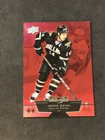 2012-13 UD BLACK DIAMOND JAMIE BENN DOUBLE DIAMOND RUBY RED #ed 83/100
