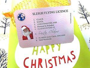 Santa Claus Lost Driving Licence, Father Christmas Eve Keepsake, Xmas Box