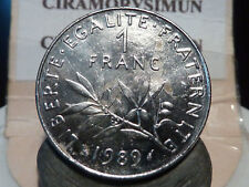 CIRA(PP) - 1 FRANC - SEMEUSE - 1989 - RECHERCHEE & QUALITES SUP+ à SPL !