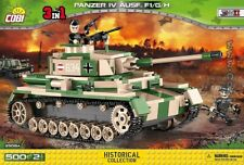 COBI Pz.Kpfw. IV Ausf. F1/G/H  /  2508 A / 500 pcs WWII German tank