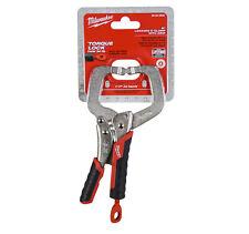 "Milwaukee 48-22-3632 6"" Locking C-Clamp with Grip"