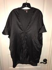 New VS Victoria s Secret Black Robe One Size 95207fb66