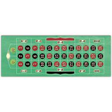 113cm Casino ROULETTE Party PVC Plastic Game Mat Decoration