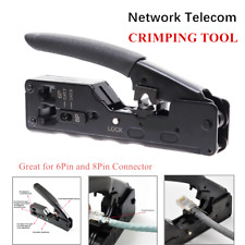 Network Telecom Crimping Tools For RJ45 RJ11 RJ12 Cat7 Cat6/6a Cat5/5e 6Pin 8Pin