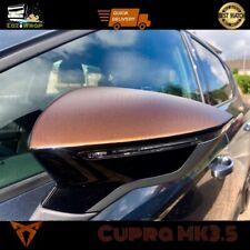 Eaziwrap Seat Leon MK3 & MK3.5 FR Cupra Mirror Overlay Vinyl StickerDecal COPPER