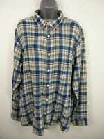 WOMENS FAT FACE MULTICOLOURED CHECKED BUTTON UP LONG SLEEVED SHIRT SIZE L LARGE