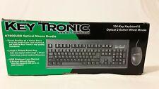 KeyTronics 104-key Keyboard & Optical 2 button wheel Mouse