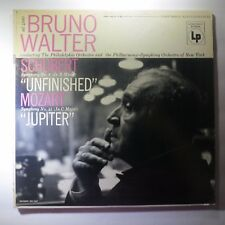 Vinyl RecordBruno Walter Franz Schubert/MozartSymphony No. 8 & 41 ML 4880