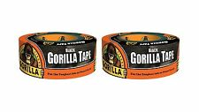"Gorilla 6001203-2 Duct Tape (2 Pack) 1.88"" x 12 yd. Black 2 Pack Free Shipping"