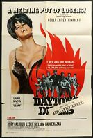 DAYTONS DEVILS Rory Calhoun Grindhouse ORIG 1968 1-SHEET MOVIE POSTER 27 x 41 A