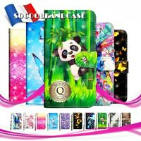 Etui coque housse Cuir PU Leather Wallet case cover HUAWEI Collection - Film