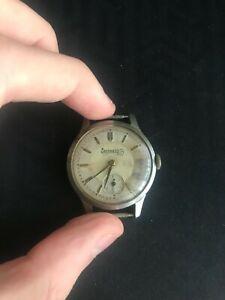 Orologio da polso Eberhard anni '40 non funzionante