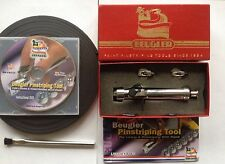 New Beugler Deluxe Pinstriping Tool Kit with Magnetic Guide Strip and DVD