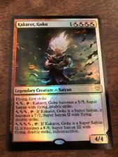 Son Goku Super Saiyan The Gathering MTG card Planeswalker Dbz Dragon Ball Vegeta