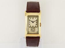Vintage 1937 Rolex Príncipe Observatorio 9ct Reloj De Oro Caballeros 'doctores