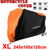 XL Universal Outdoor Waterproof Motorcycle Motorbike Cruiser Scooter Bike Cover