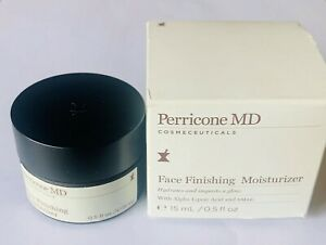 Perricone MD Face Finishing Moisturizer 0.5 oz 15 ml NEW IN BOX Anti aging