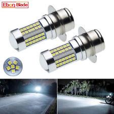 2Pcs P36S BPF P323 LLB323 3030 66SMD Car LED Light Bulb Lamp White 6000K 6V DC