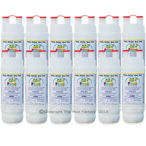 12 Pack POOL FROG BAC PAC For Mineral System