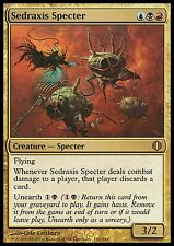Sedraxis Specter LP Shards Of Alara MTG Magic Cards Gold Rare