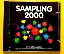 SAMPLING 2000  -  OVER 900 SAMPLES  -  CD  COME NUOVO