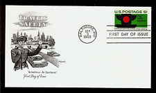 FIRST DAY COVER #1272 Traffic Safety 5c ARTMASTER U/A FDC 1965