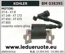 1458404S 1458416S BOBINA ELETTRONICA RASAERBA MOTORE KOHLER XT800 VOLANO GHISA