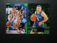 2 Jason Kidd Rookie cards-Dallas Mavericks-EX+