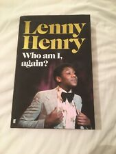Autobiography Of Lenny Henry. New Never Been Opened. Unwanted Gift