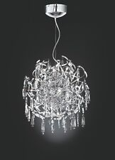 Trio Kristall Design Pendelleuchte JOY 15x20W 48cm Glas Lampe 366911506 Neu