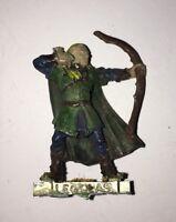 Legolas at Amon Hen OOP metal model Lord of the Rings Games Workshop 2000s