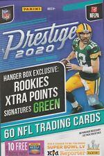 2020 Prestige Football sealed unopened Hanger box 1 pack of 60 NFL cards