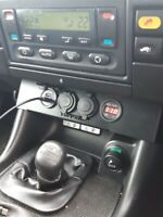 Land rover Discovery 2 Disco 2 2003 transfer lever power output panel upgrade
