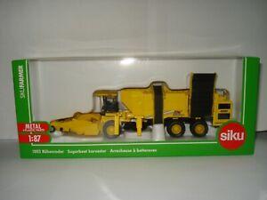 Siku 1803 ROPA TIGER XL Rübenroder Sugarbeet Harvester 1:87 Farmer Traktor NEU