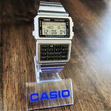 RARE Vintage 1985 Casio DBC-600 Data Bank Calculator Watch Mod 563 Made in Japan