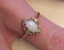 10k Yellow Gold Opal Ring size 5.5