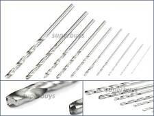 10pcs 0.5mm - 3mm Twist Drill Bit High Speed Steel Milling Bore Power Rotary