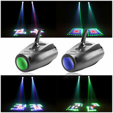 2PCS RGBW LED Lights Laser Stage Effect Lighting Club Disco DJ Party Bar