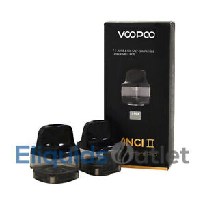 VOOPOO VINCI 2 XL 6.5 Replacement Pod NEW VERSION II with scratch Code GENUINE