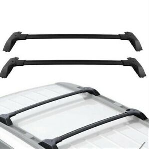 Top Roof Rack Cross Bar Luggage Carrier Aluminum For 2009-2019 Chevy Traverse
