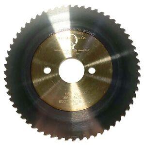 W.D. Quinn Cold Saw Blade 166mm x 1.6mm x 32mm HSS M2 TiAlN 18/8 USA Made